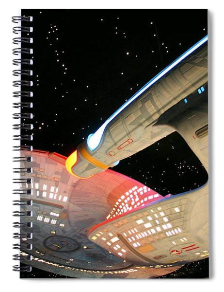 To Boldly Go Spiral Notebook