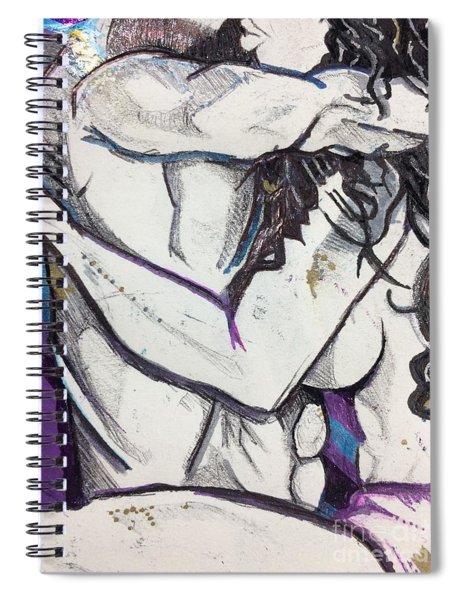 To Date An Artist - Close Up Spiral Notebook