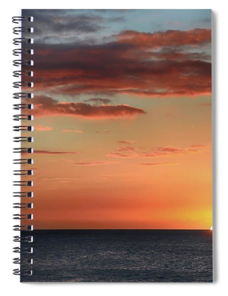 To End My Day With You Spiral Notebook