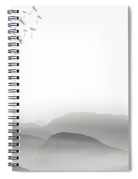 To Fly Only For A Moment Spiral Notebook