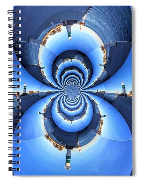 To The Lighthouse Spiral Notebook