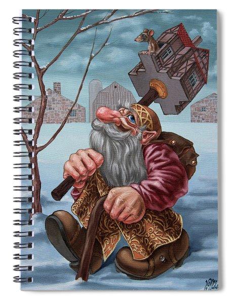 To Winter Flats Spiral Notebook