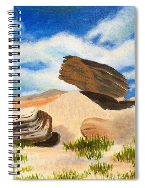 Toadstool Park Nebraska Spiral Notebook