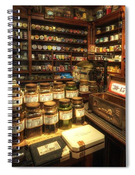 Tobacco Jars Spiral Notebook