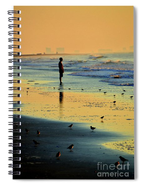 Today's The Day When Anything Is Possible Spiral Notebook
