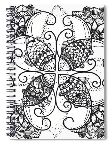 Together We Flourish - Ink Spiral Notebook