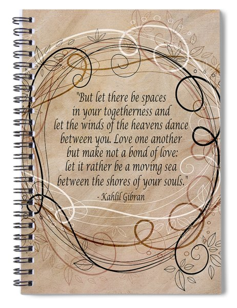 Togetherness Spiral Notebook
