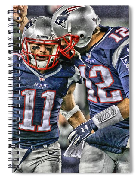Tom Brady Art 1 Spiral Notebook