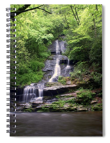 Tom Branch Falls Spiral Notebook