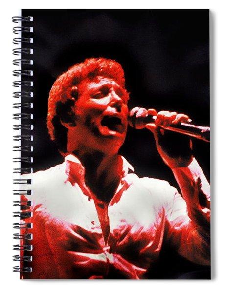 Tom Jones In Concert Spiral Notebook