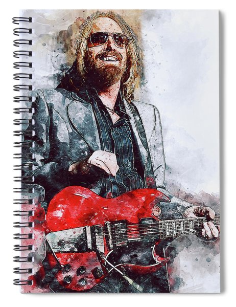 Tom Petty - 21 Spiral Notebook