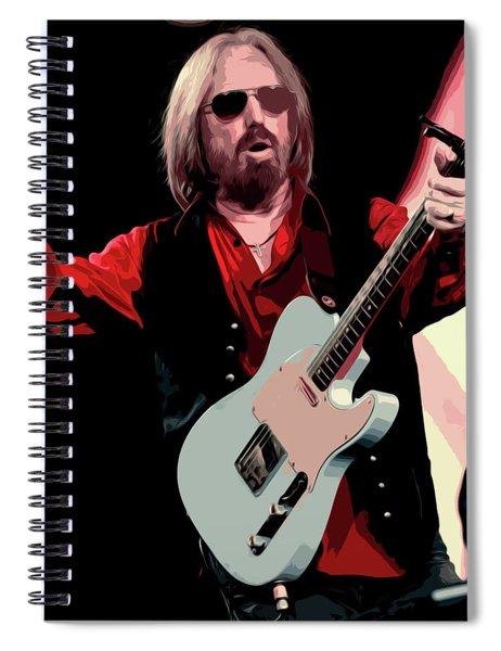 Tom Petty, Hypnotic Eye Spiral Notebook