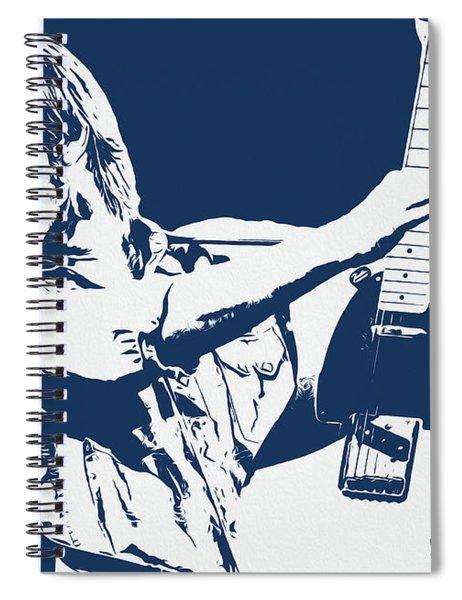 Tom Petty - Portrait 02 Spiral Notebook