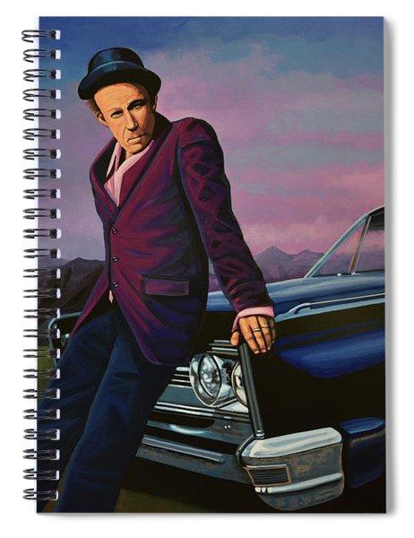 Tom Waits Spiral Notebook