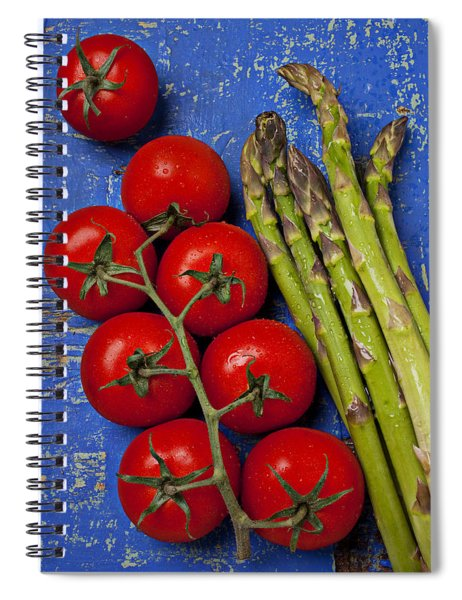 Tomatoes And Asparagus  Spiral Notebook