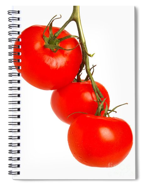 Tomatoes On The Vine Spiral Notebook