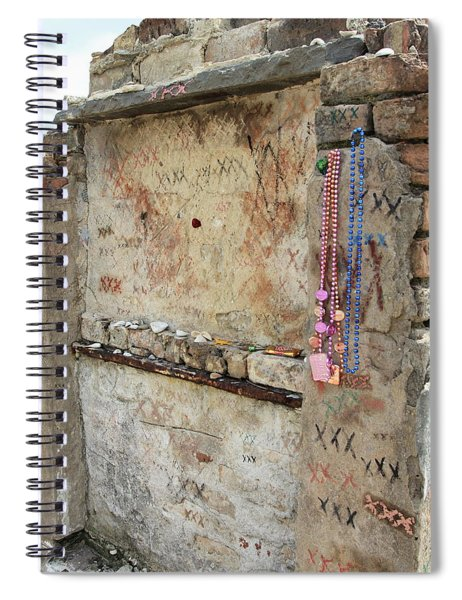 Tomb Of The Unknown Voodoo Priestess Spiral Notebook
