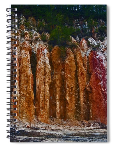 Tombs Land Formation Spiral Notebook