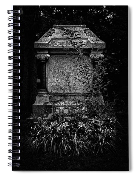 Tombstone Shadow No 30 Spiral Notebook