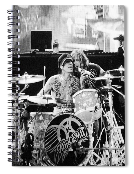 Tommy And Steven Spiral Notebook