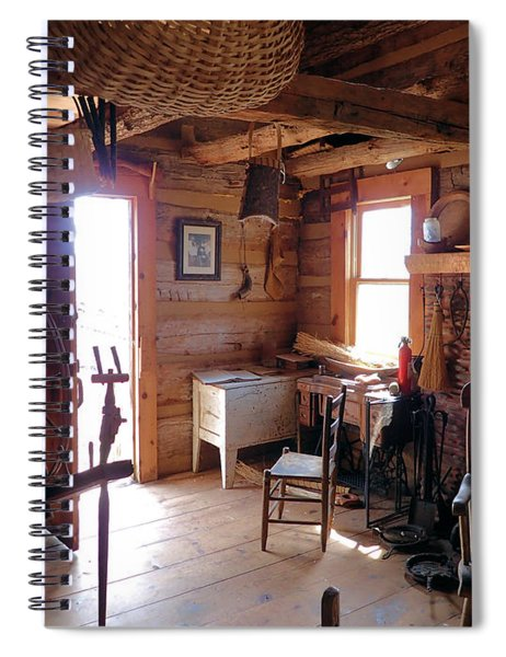 Tom's Old Fashion Cabin Spiral Notebook