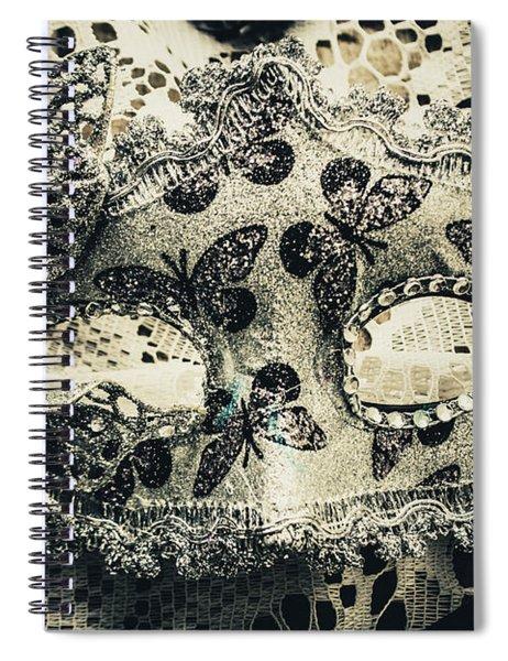 Toned Image Of Beautiful Festive Venetian Mask Spiral Notebook