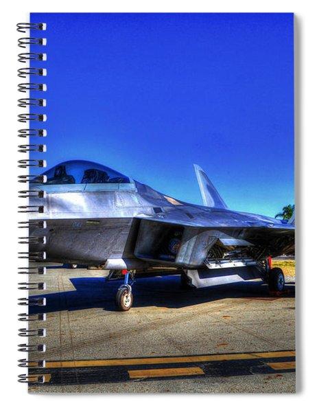 Tonemapped Raptor Spiral Notebook