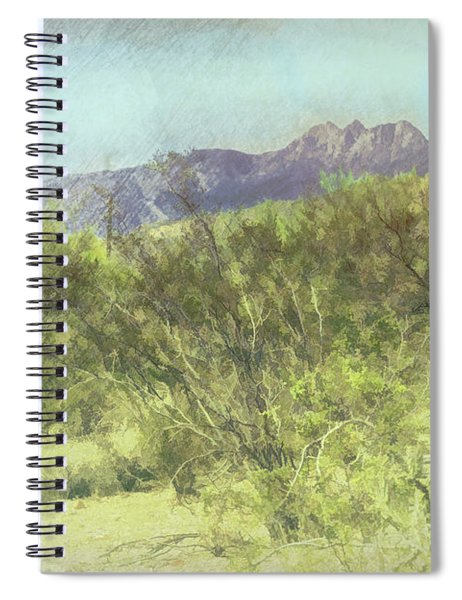 Tonto National Forest Spiral Notebook