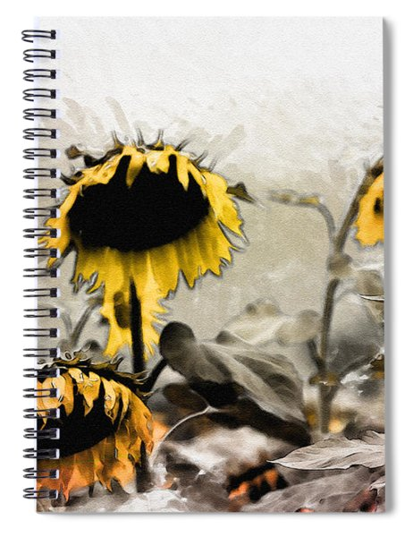 Too Tired To Follow The Sun  Spiral Notebook