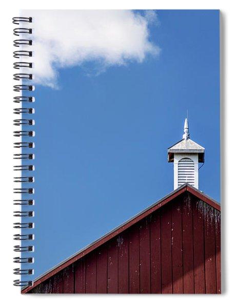 Top Of A Barn Spiral Notebook