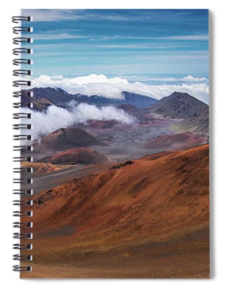 Top Of Haleakala Crater Spiral Notebook