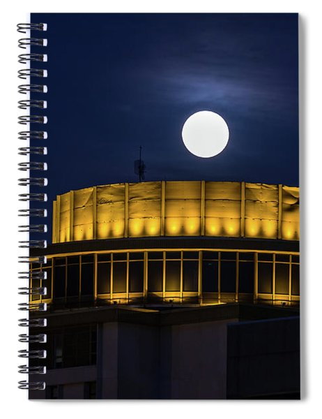 Top Of The Capstone Spiral Notebook