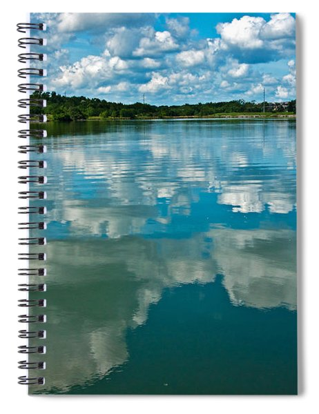 Spiral Notebook featuring the photograph Top Ten Day by Edward Peterson