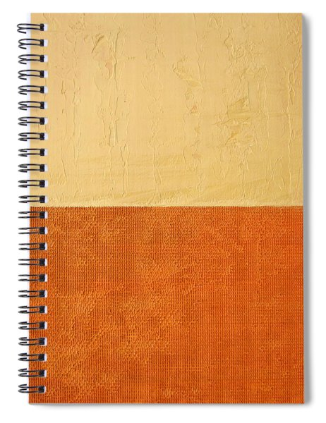 Topaz Pink Orange Spiral Notebook