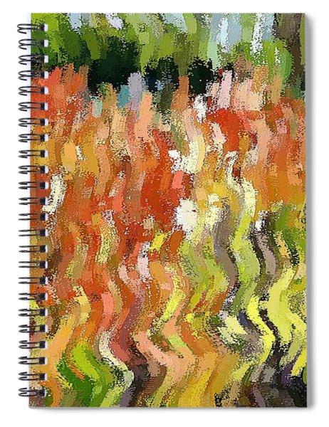 Torch Lilies Spiral Notebook