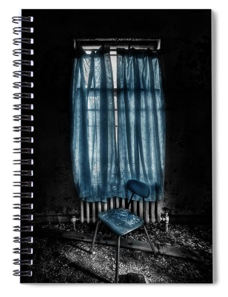Tormented In Grace Spiral Notebook