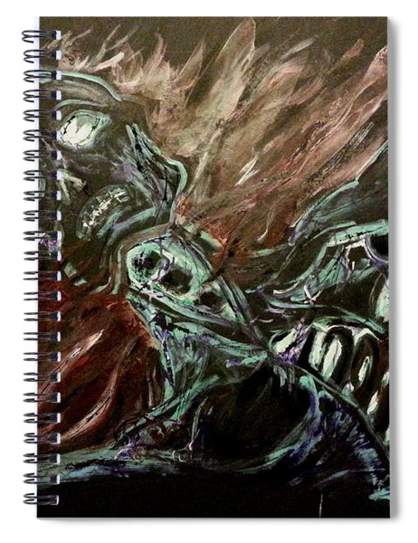 Tormented Soul Spiral Notebook