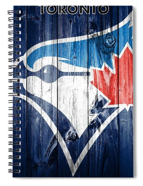 Toronto Blue Jays Barn Door Spiral Notebook