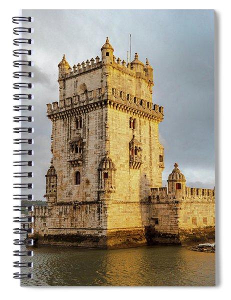 Torre De Belem Spiral Notebook