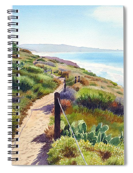 Torrey Pines Guy Fleming Trail Spiral Notebook