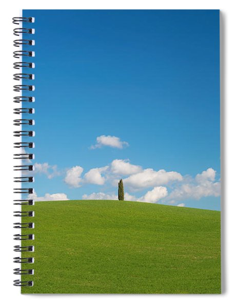 Spiral Notebook featuring the photograph Toscana by Mirko Chessari