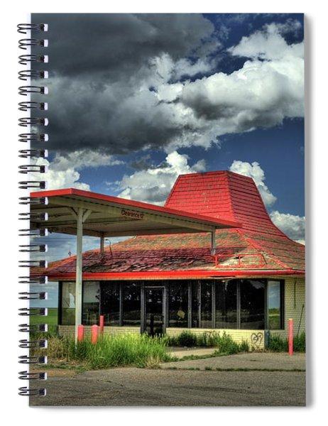 Totaled Spiral Notebook