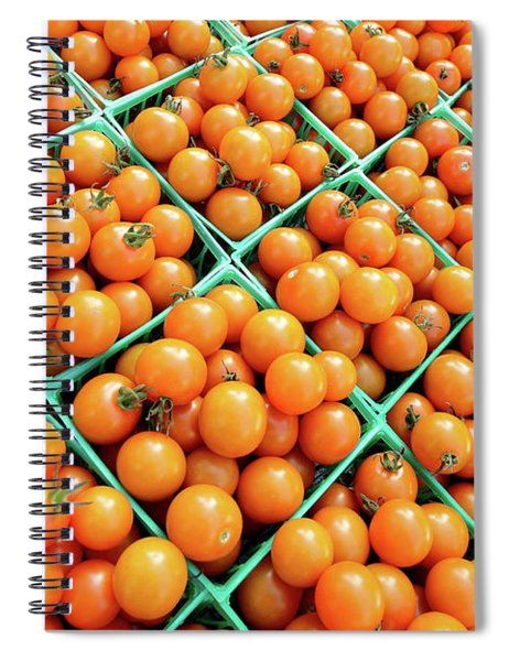 Totally Tomato Spiral Notebook