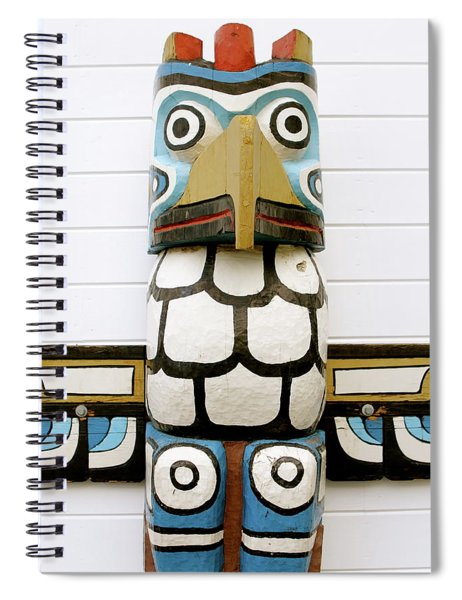 Totum Pole Spiral Notebook