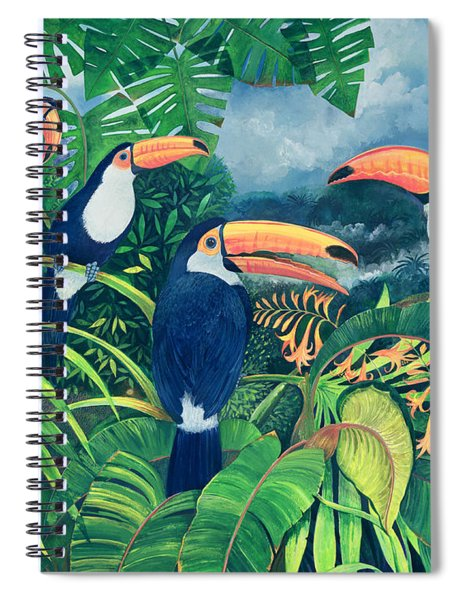 Toucan Talk Spiral Notebook