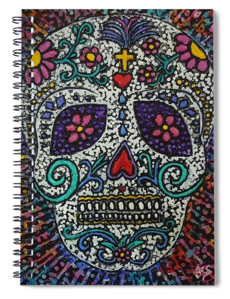 Touch Of Death Spiral Notebook