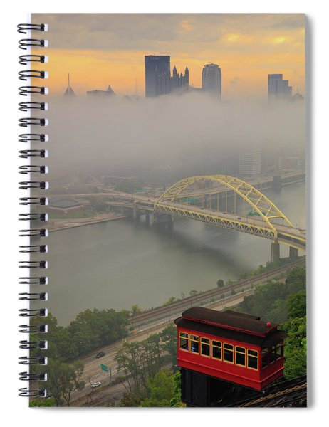 Touch Of Fog  Spiral Notebook