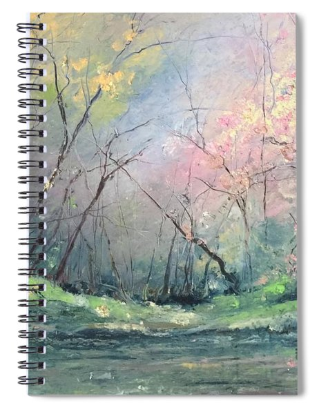 Touch Of Pink Spiral Notebook