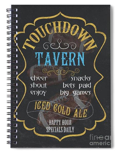 Touchdown Tavern Spiral Notebook