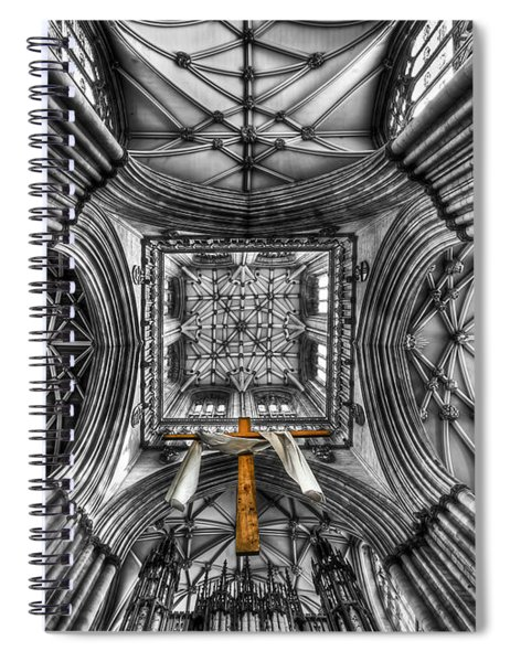 Touched By Heaven Spiral Notebook